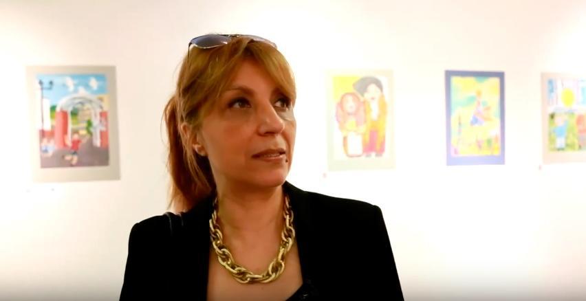 Mylène Atanassova. Professeur en Art visuel. Interview pour le festival