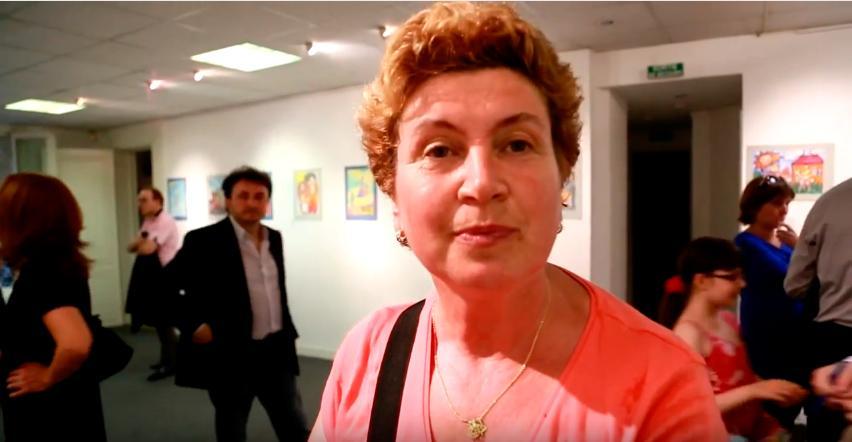 Zhanna Sabadash. Invitée. Interview pour le festival international