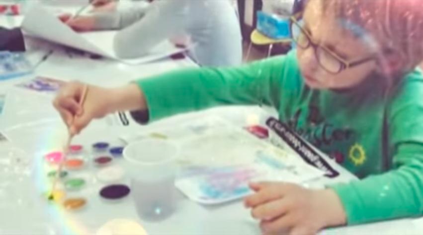 Amitié sans frontières. Atelier de créativité pour Enfants. Centre d'animation ARRAS. 2015, Paris