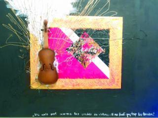1 prix «Les amis sont comme les cordes de violons-il ne faut pas trop les tendre». Jade Fregence 13 ans, Ecole Saint Ursula, Paris, France.