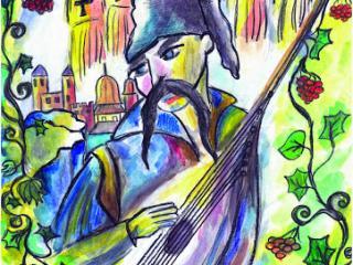 «C'est avec plaisir que nous nous souvenons de ceux avec qui  nous avons vécu des moments  de joie, c'est avec tendresse que nous nous souvenons de ceux avec qui nous avons traversé des moments difficiles ». Samuel Johnson. Gurina Ilona 16 ans, Atelier Artistique ACQUA, Slavutich, Ukraine. Commentaire de l'artiste: La chanson de l'amitié unit pour des siècles.