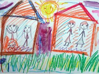«Un des plus grands bonheurs de ce monde, c'est l'amitié. Un des bonheurs de l'amitié, c'est d'avoir une personne à qui confier ses secrets» Adrianna MARCEL, 6 ans, Pologne/ France