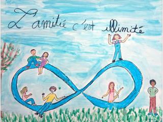«L'amitié sans confiance, c'est une fleur sans parfum» Margot 13 ans et Adriana 12 ans,  Serbie/ France