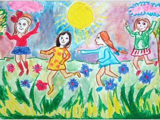 «Les amis peuvent transformer les mauvais moments en bon souvenirs et les bons moments en souvenirs inoubliables» Kamila MARCEL, 8 ans, Pologne/ France